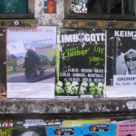 plakatiertes Plakat